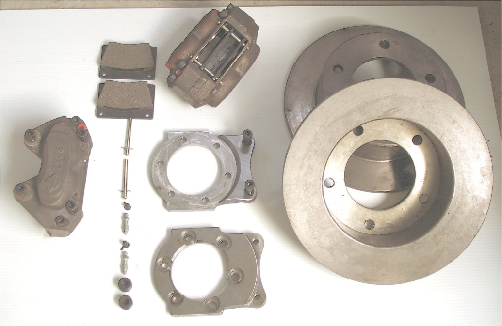 Zeus Disc Brake Conversion Kit for Series (1,2,2A,3) Land